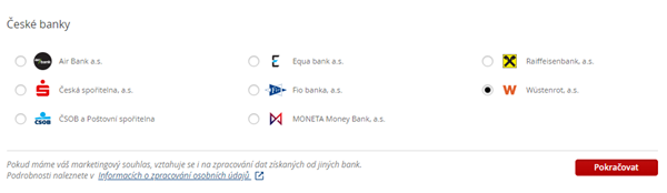 How To Link Your Account From The Wustenrot Internet Banking Komercni Banka
